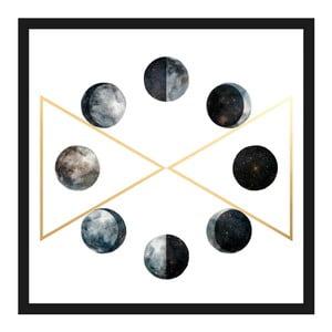 Obraz na płótnie Marmont Hill Moon Phases, 41x41 cm