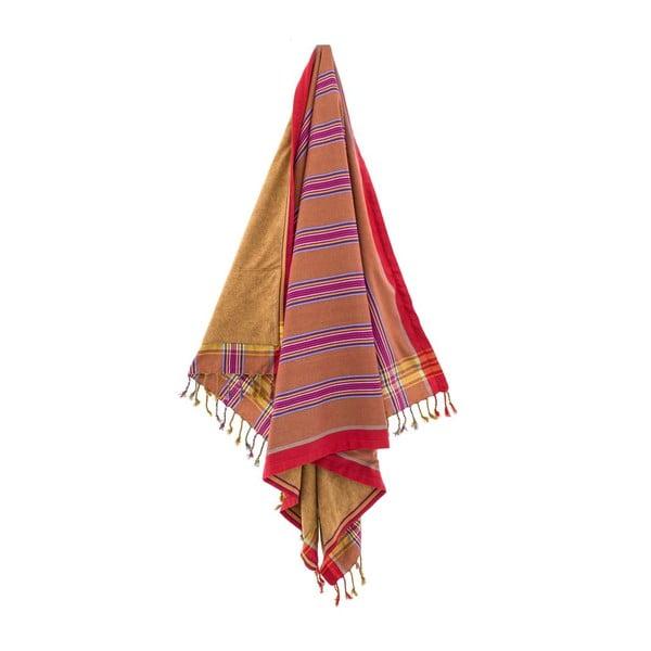 Ręcznik Gonca Red, 100x178 cm