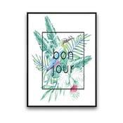Plakat Bonjour, 30 x 40 cm