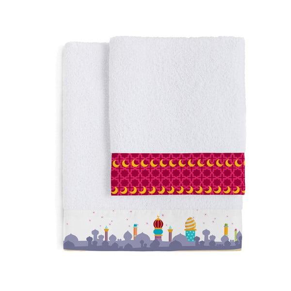 Komplet 2 ręczników Aladdin, 50x100 cm i 70x140 cm