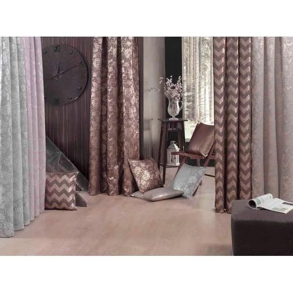 Brązowa poszewka na poduszkę Apolena Chica, 43x43 cm