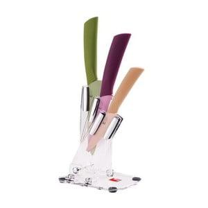 Zestaw noży ze stojakiem Knife Colour