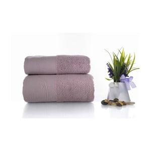 Zestaw 2 ręczników Indigo V6, 50x90 cm + 70x140 cm