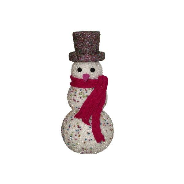 Dekoracyjna figurka Glitter Snowman