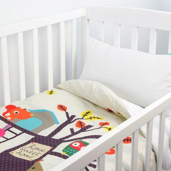 Dziecięca narzuta z poszewką na poduszkę Baleno Sweet Home, 100x130 cm