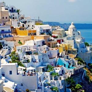 Obraz Grecja, 60x60 cm