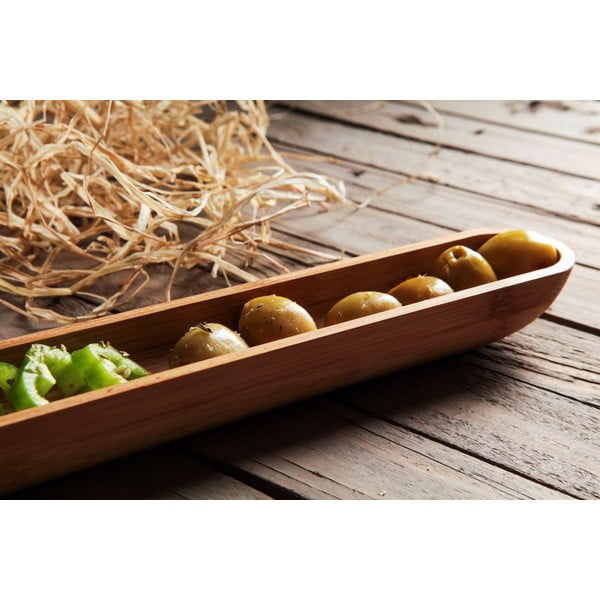 Bambusowa miska na oliwki Luiz, 40 cm