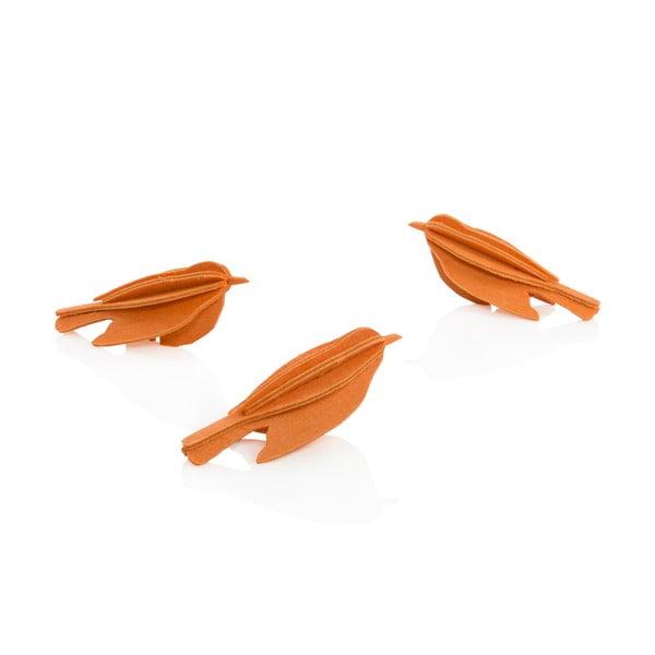 Składana pocztówka Lovi Minibird Orange