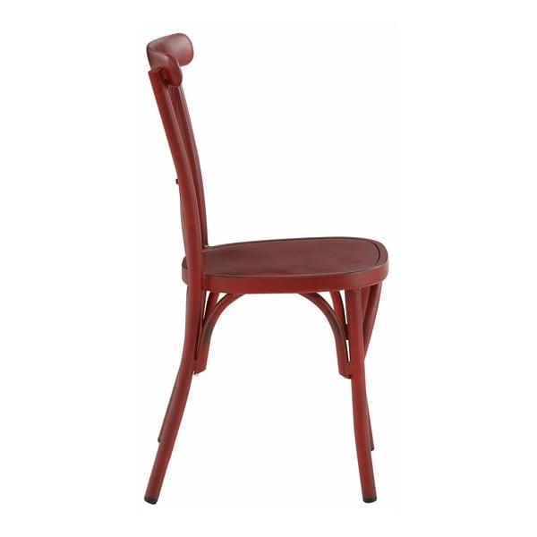 Zestaw 2 czerwonych krzeseł bukowych Støraa Lancier