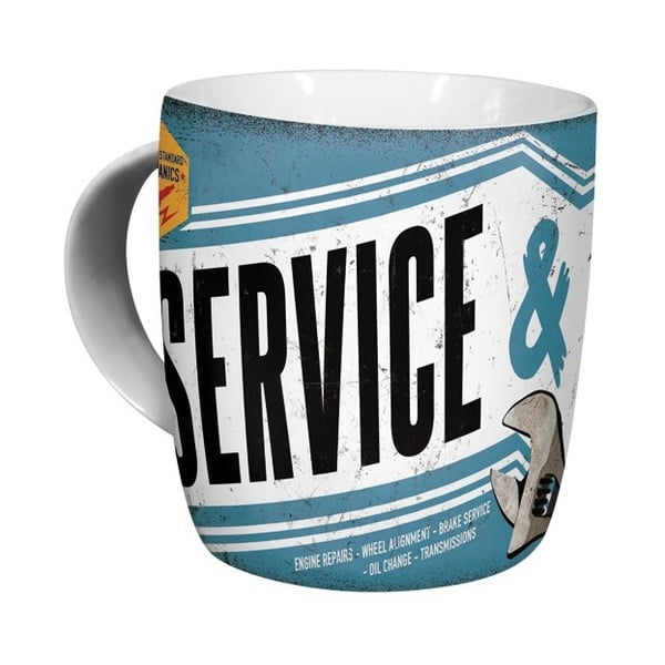 Kubek ceramiczny Repair Service, 330 ml