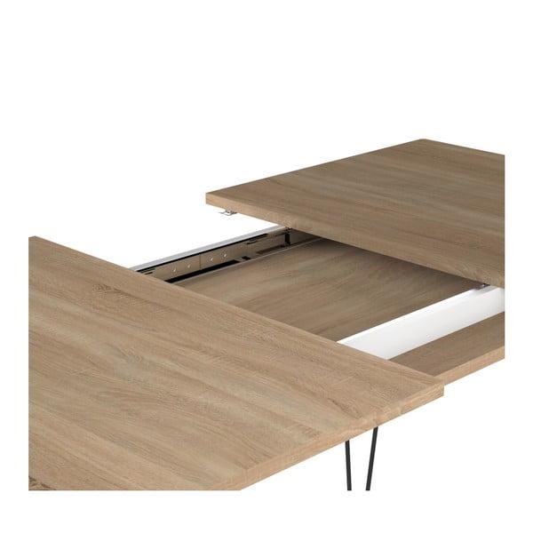 Jasnobrązowy stół rozkładany Symbiosis Aero