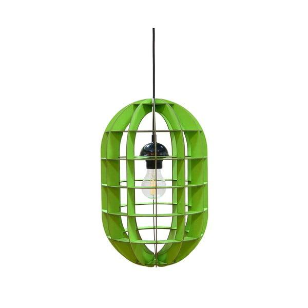 Lampa Pill, zielone