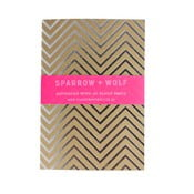 Notes Silver Chevron