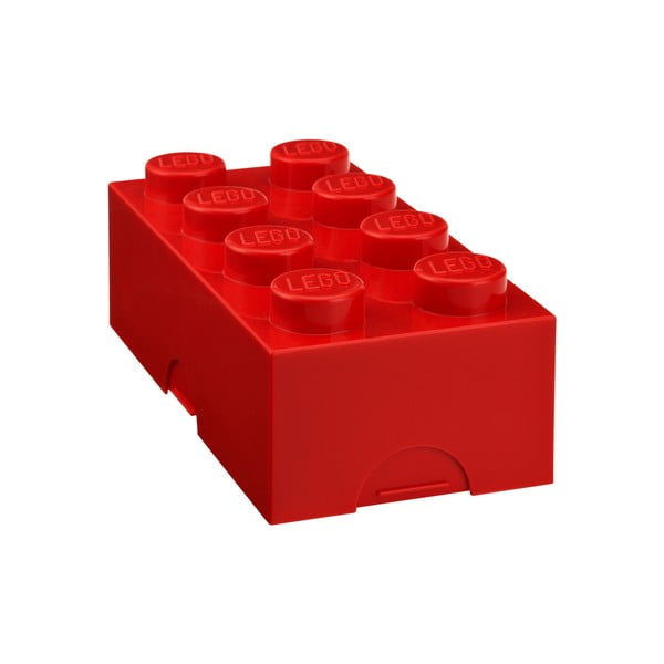 Czerwony pojemnik śniadaniowy LEGO®