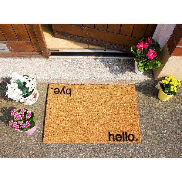 Wycieraczka Artsy Doormats Hello, Bye, 40x60 cm