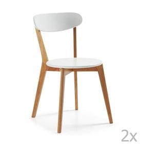 Zestaw 2 krzeseł La Forma Luana