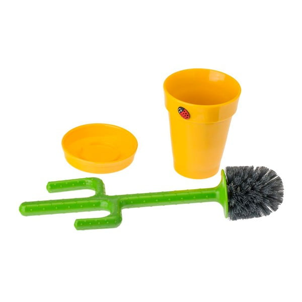 Szczotka toaletowa Cactus Yellow