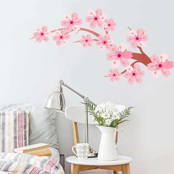 Naklejka Cherry Blossom, 70x50 cm