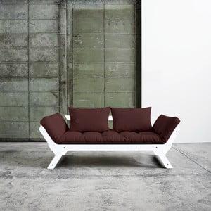 Sofa wielofunkcyjna Karup Bebop White/Brown