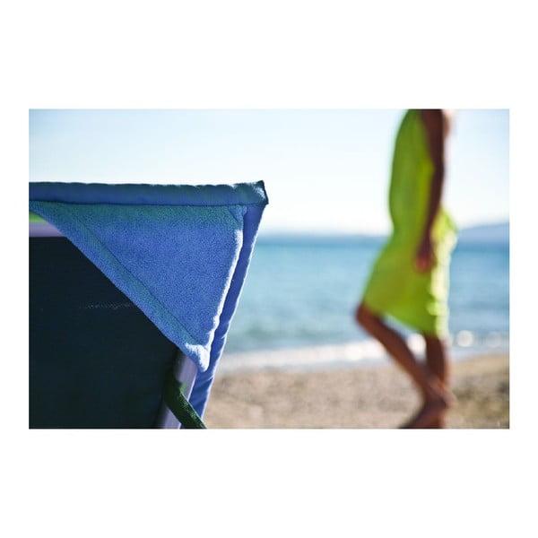 Niebieski ręcznik plażowy Terra Nation One Moe, 90x180 cm