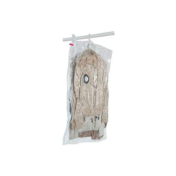 Wiszący próżniowy pokrowiec na ubrania Compactor Espace, dł. 105 cm