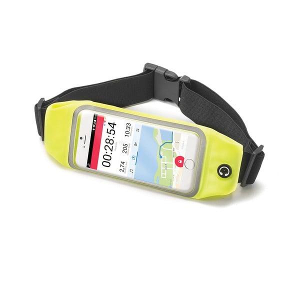 """Sportowa opaska, neopreonowa CELLY RunBelt View, na telefony do 4.7"""", żółta"""