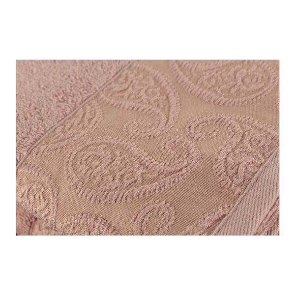 Zestaw 2 ręczników Sal Dusty Rose, 50x90 cm