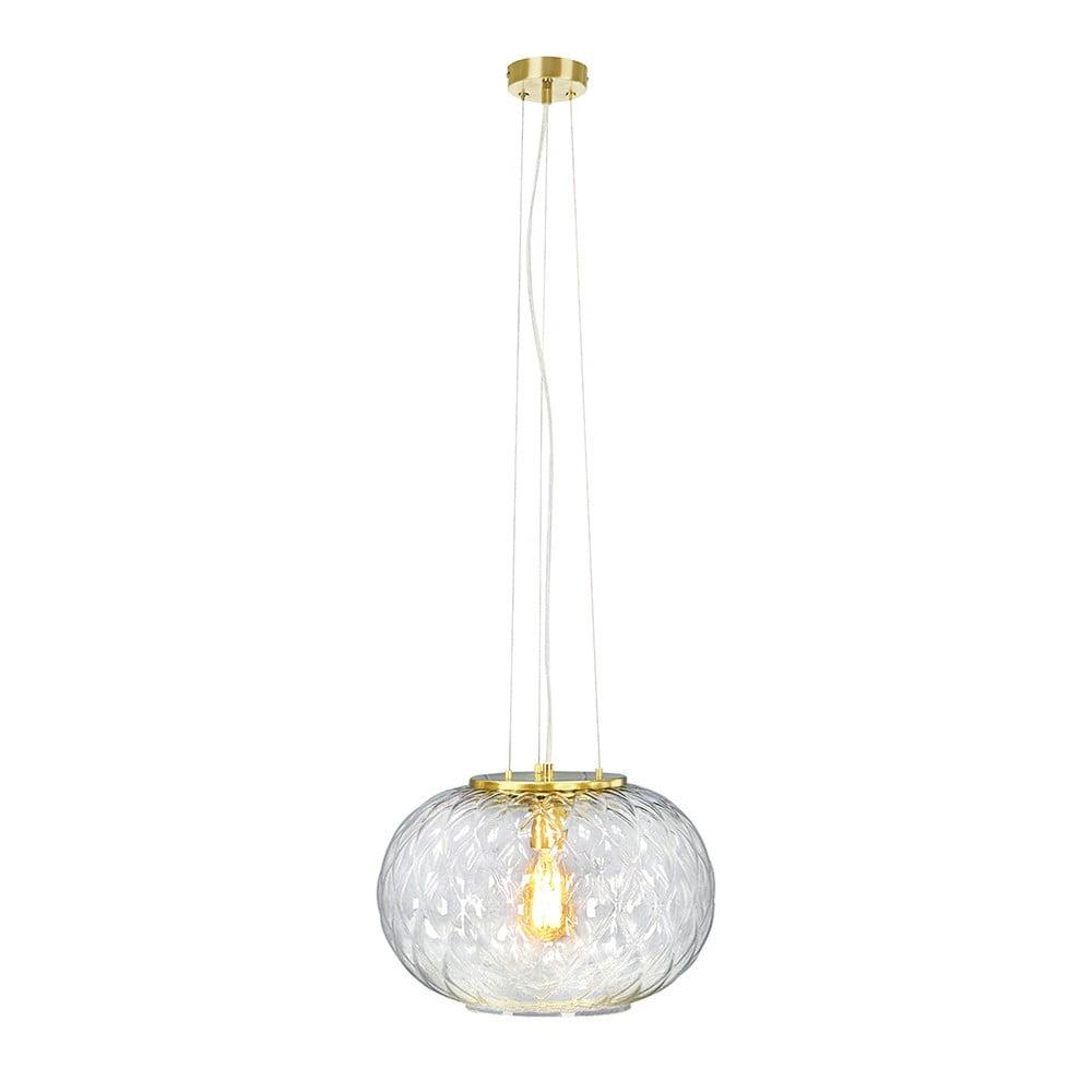 Lampa wisząca w kolorze mosiądzu Markslöjd Boutique