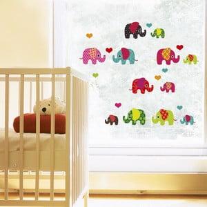 Naklejka na okno Lovely Elephant