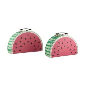 Zestaw 2 kuferków Sass & Belle Watermelon