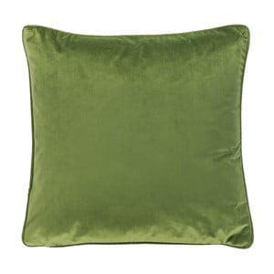 Ciemnozielona poduszka Tiseco Home Studio Velvety, 45x45 cm