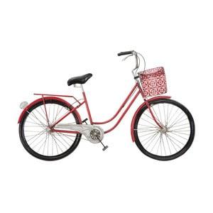 Dekoracja ścienna w kształcie roweru Mauro Ferretti Girly, 96x60 cm