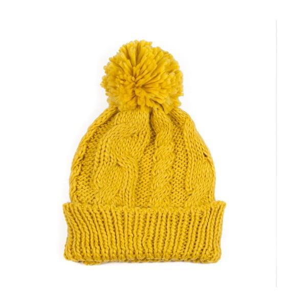 Czapka Pom Yellow