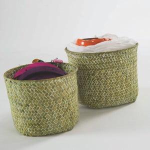 Zestaw 2 zielonych koszyków Compactor Rush