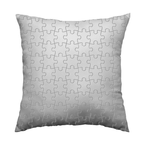 Poduszka Grey Puzzle, 40x40 cm