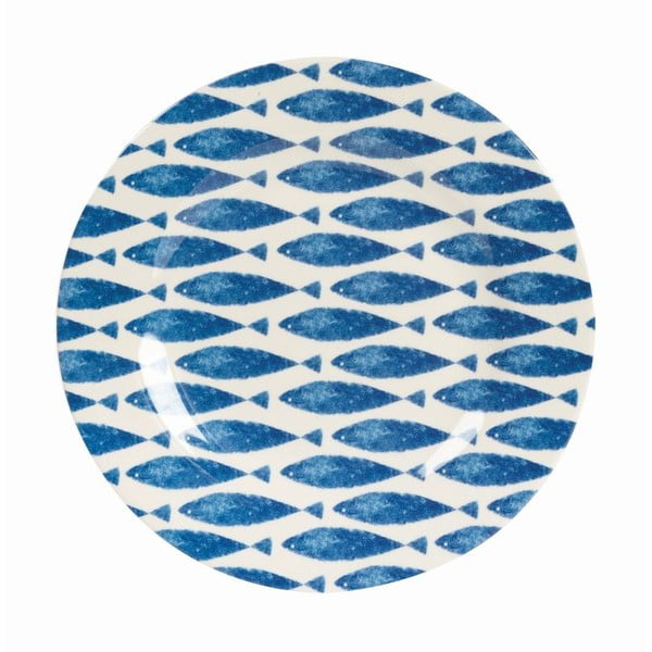 Komplet 6 talerzy Couture Fishie, 20,3 cm