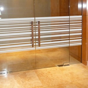 Naklejka Fanastick Lignes Horizontales, 200x55 cm