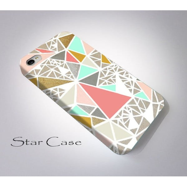 Etui na iPhone 4/4S Geometric Glitter