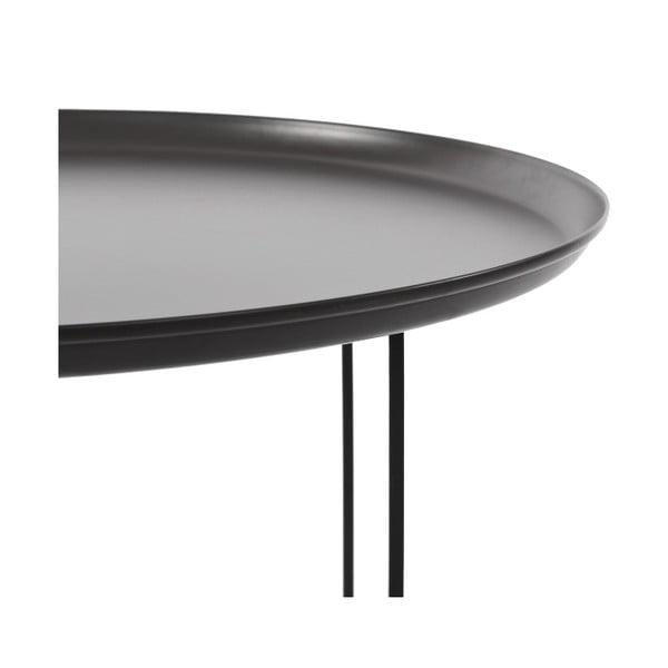 Czarny stolik NORR11 Duke Large