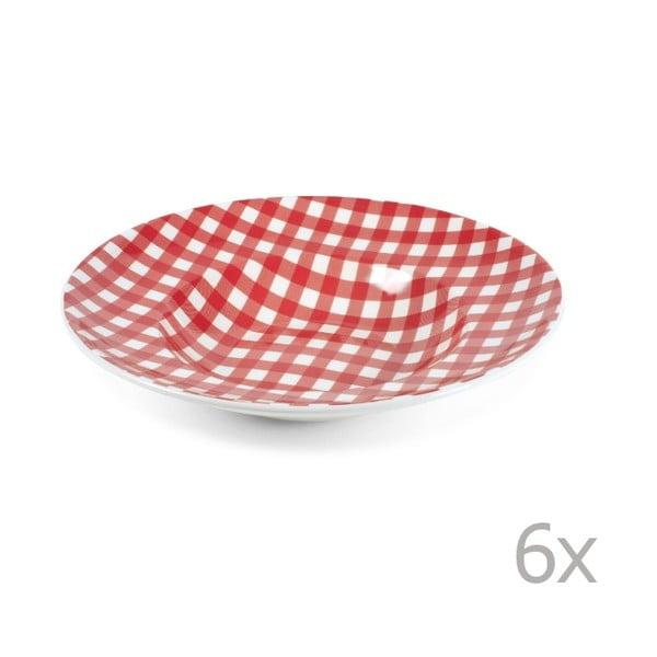 Zestaw 2 talerzy na makaron Livia 30,5 cm, czerwony