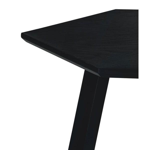 Stolik Hexagon Dark Grey, 47x37x47 cm