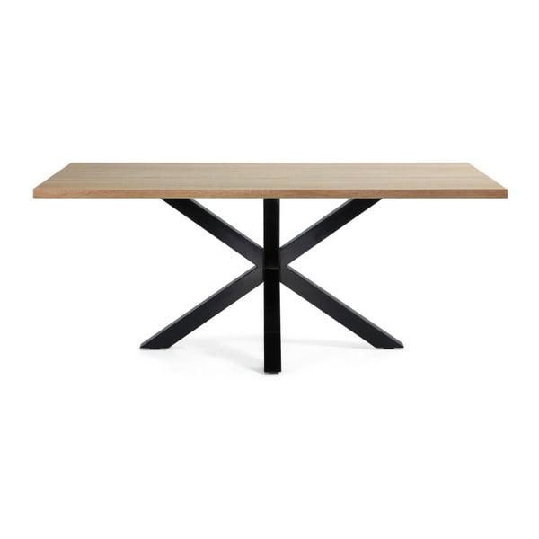 Stół do jadalni Arya, 200x100cm, czarne nogi ze sklejki