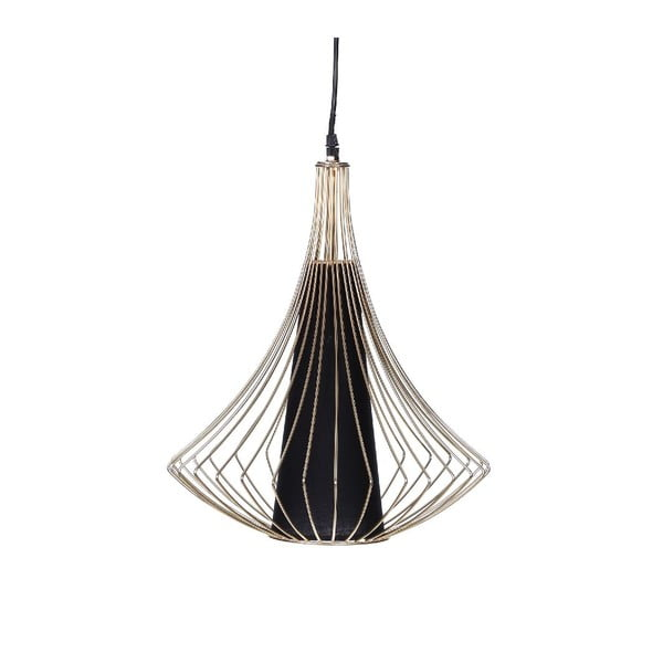 Lampa sufitowa Golden Cage, 36x46 cm