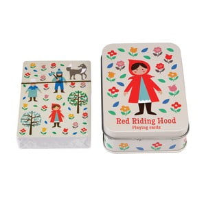 Karty do gry Czerwony Kapturek Rex London Red Riding Hood