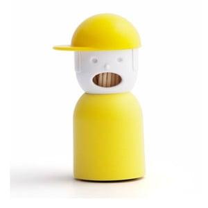 Żółty pojemnik na wykałaczki Qualy&CO Picky Boy
