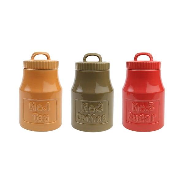 Oliwkowy pojemnik ceramiczny T&G Woodware Colour by Numbers