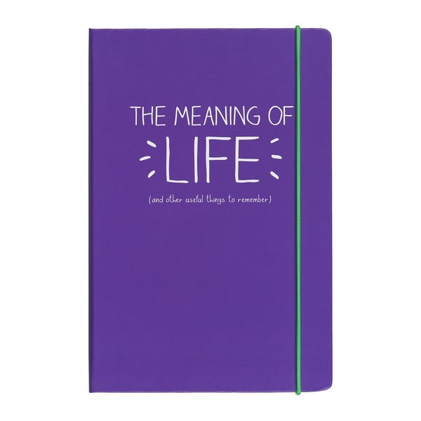 Notes A5 Happy Jackson Meaning Of Life