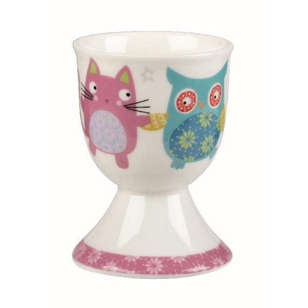 Zestaw 4 kieliszków na jajko Owl & Cat
