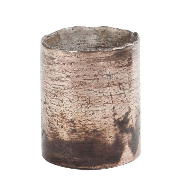 Miedziany świecznik Antique