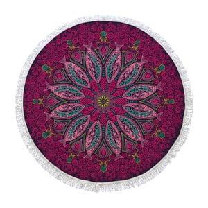 Okrągły ręcznik Passionflower, ⌀150cm